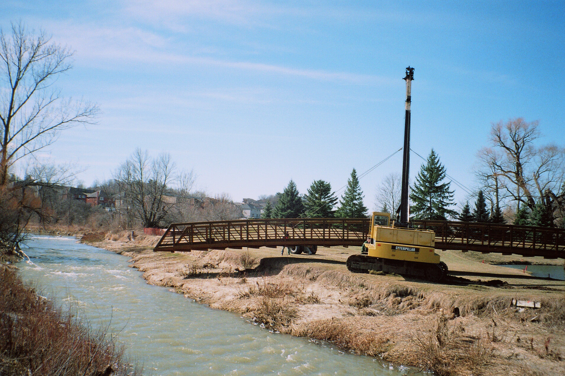 Bridge Install over Humber River
